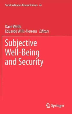 Subjective Well-Being and Security (Hardcover)