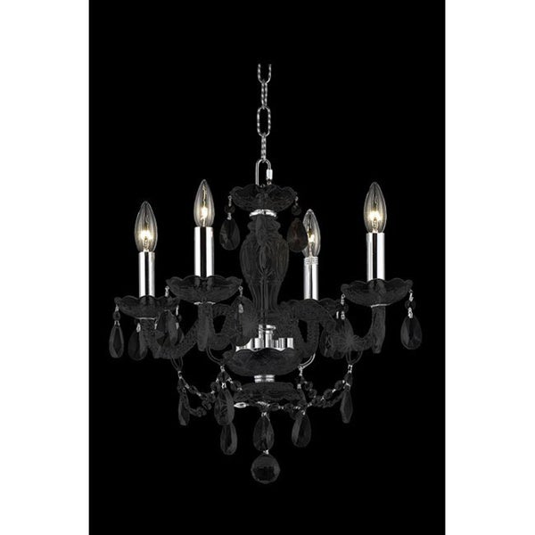 Somette Crystal 64900 Collection 4-light Chandelier