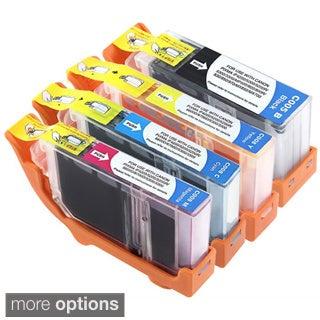 INSTEN Canon Compatible Pixma MX700 Black/ Color Ink Cartridges (Pack of 4)