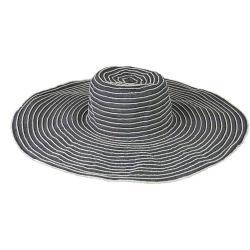 Grosgrain Ribbon Packable Crushable Travel Sun Hat (China)