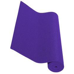 Exercise Fitness Non-slip Purple Yoga Mats (Pack of 2)