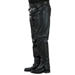 """Mossi Mens Leather Pants 34"""" Inseam"""