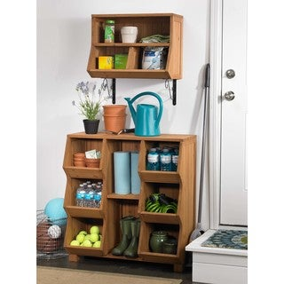 Fir Wood Storage Cubby