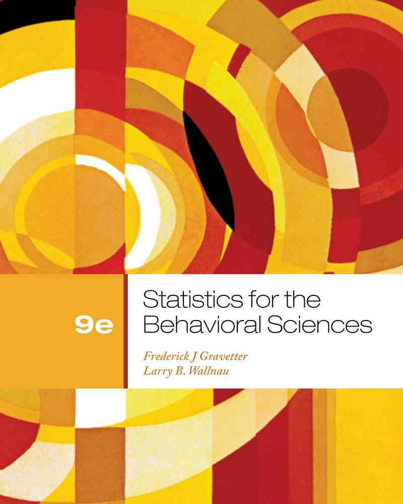 Statistics for the Behavioral Sciences (Other book format)