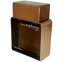 Euphoria Intense Men Calvin Klein 3.4-ounce Eau de Toilette SP (Tester)