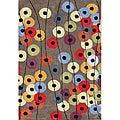 Alliyah Handmade Elephant Grey New Zealand Blend Wool Rug (5' x 8')