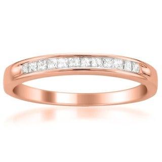 14k White Gold 1/4ct TDW Diamond Wedding Band (I-J, I1-I2)