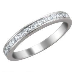 14k White Gold 2/5ct TDW Diamond Wedding Band (H-I, I1-I2)