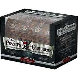 Pirates Of The Caribbean Four Movie Collection (Blu-ray/DVD)