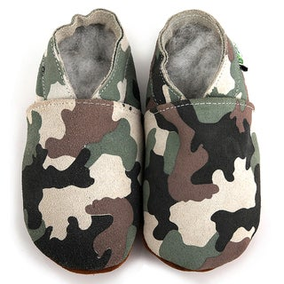 Baby Pie Camouflage Leather Infant Shoes