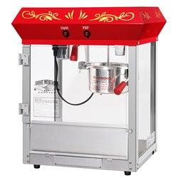 Great Northern 6131 Popcorn All Star Countertop Red Popcorn Machine