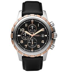 Fossil Men's Stainless Rose Goldtone Chronograph Watch
