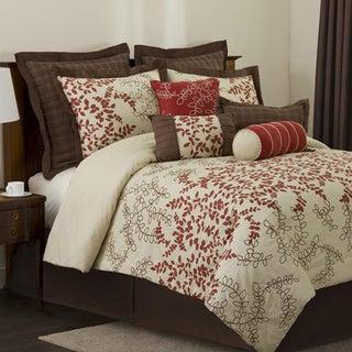 Lush Decor Hester 8-piece Full-size Comforter Set