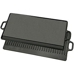 Bayou Classic Cast Iron Reversible Griddle