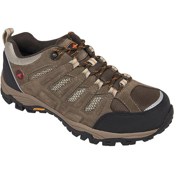 Men's Waterproof Leather Rugged Shark Expedition Low Hiking Boot