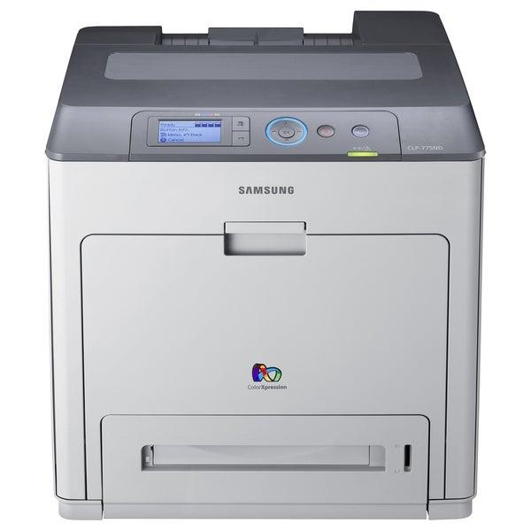 Samsung CLP-775ND Laser Printer - Color - 9600 x 600 dpi Print - Plai
