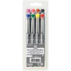 Zig Memory System Millennium Assorted Color Markers (Pack of 8)