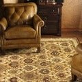 Hand-tufted Genus S. Multi Wool Rug (5&#39; x 7&#39;6)