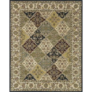 Hand-tufted Mason Multi Wool Rug (7'9 x 9'9)