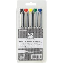 Zig Memory System Millennium 0.65mm Markers (Pack of 5)
