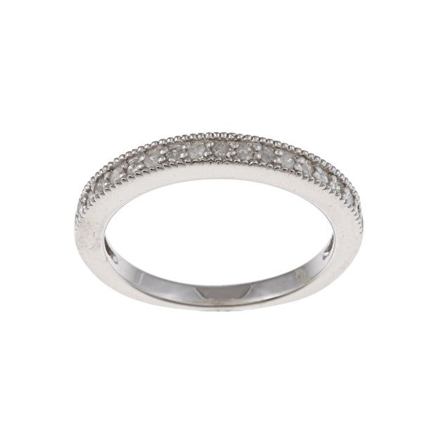 Sterling Silver 1/3ct TDW Diamond Band (G-H, I1-I2)