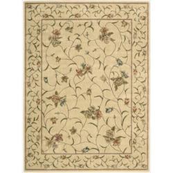 "Nourison Summerfield Ivory Floral Rug (7'9"" x 10'10"")"
