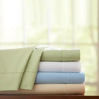 Pima Cotton 800 Thread Count Hemstitch Deep Pocket Sheet Set or Pillowcase Set