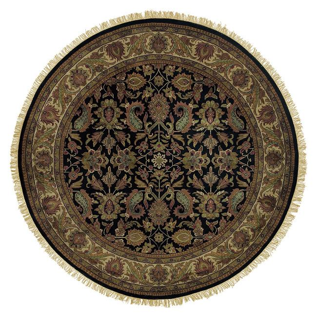 Hand-knotted Downing Wool Rug (8' Round)