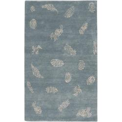 Hand-knotted Tamora Wool Rug (9' x 13')