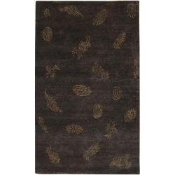 Hand-knotted Dorset Wool Rug (9' x 13')