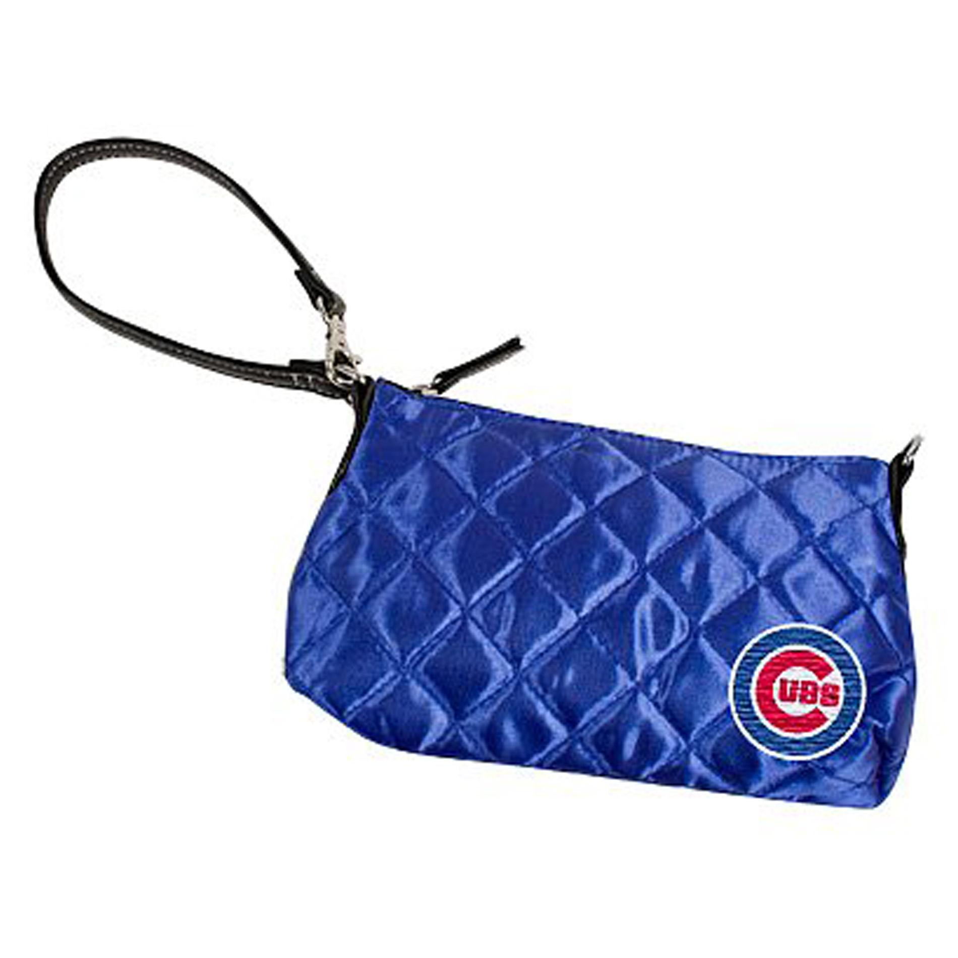 Little Earth Chicago Cubs Quilted Wristlet
