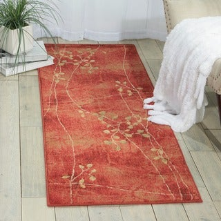 Nourison Summerfield Flame Rug (2' x 5'9)