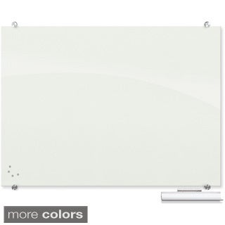 Best-Rite Visionary 3x4-ft Magnetic Glass Dry Erase Board