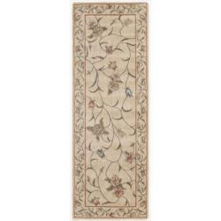 Nourison Summerfield Ivory Traditional Floral Rug (2'3 x 8')
