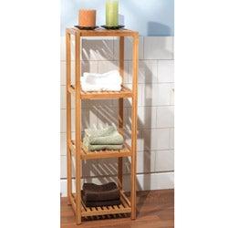 Simple Living Bamboo 4-tier Shelf