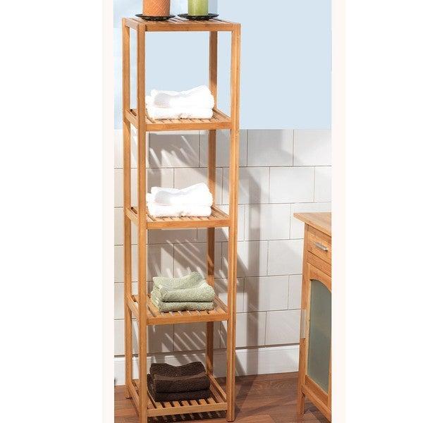 Simple Living Bamboo 5-tier Shelf