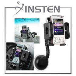 INSTEN Windshield Mount Holder for Nokia N95 8GB for Apple iPhone 4S/ 5S/ 6
