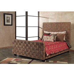 Seagrass Twist California King-size Sleigh Bed