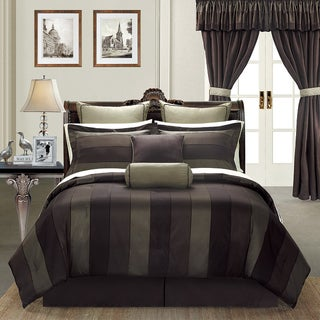 Midnight by EverRouge Queen-size 24-piece Room in a Bag with Sheet Set