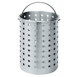 Bayou Classic 30-quart Aluminum Perforated Stock Pot Basket