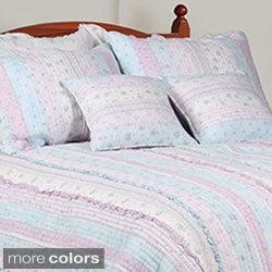 Romantic Chic Lace Quilt Set