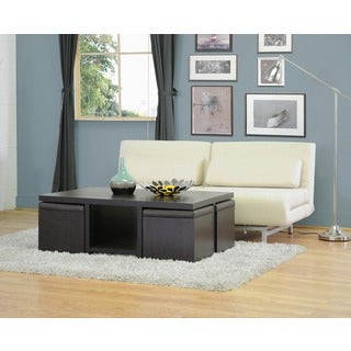 Prescott Modern Table and Stool Set