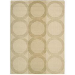 Nourison Hand-tufted Panache Beige Wool Rug (7'3 x 9'3)