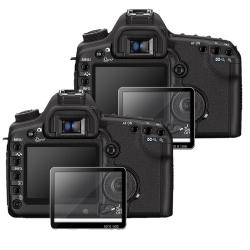 Glass LCD Screen Protector for Canon EOS 40D/ 50D/ 5D Mark II (Pack of 2)