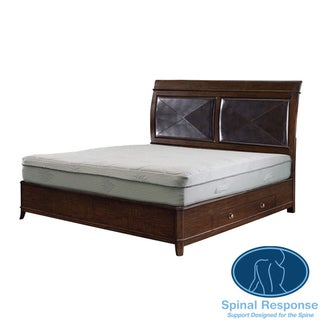 Spinal Response Aloe 11-inch Full-size Smooth Top Memory Foam Mattress