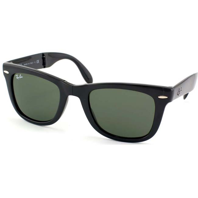Ray Ban Women's RB 4105 Folding Wayfarer Sunglasses