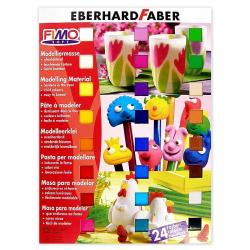 Fimo Soft Polymer Clay Assortment (Set of 24)