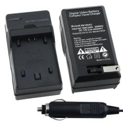 INSTEN Battery Charger Set for Sony NP-FP50/ 70/ 90/ NP-FH50/ 40/ 60/ 10