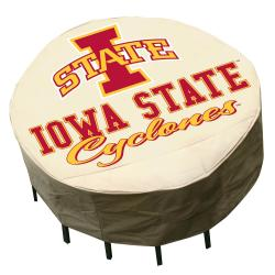 NCAA Iowa State Cyclones Round Patio Set Table Cover