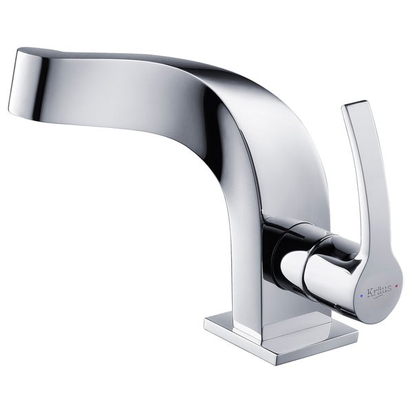 Kraus Typhon Single Lever Bas-inch Faucet